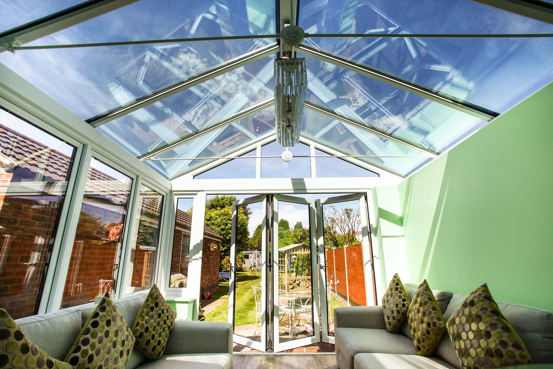 Glass conservatory roofs Bicester